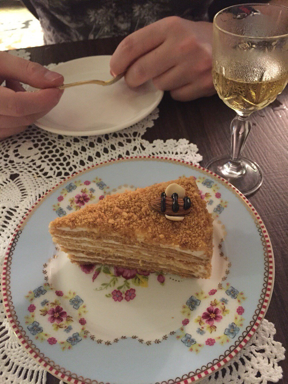 Honey cake - Dacha Restaurant & Bar\'s photo in Central Hong Kong ...