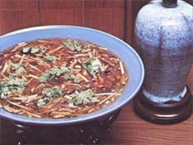 Vegetarian Imitated Shark's fin soup
