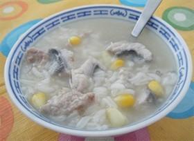 粟米魚片粥