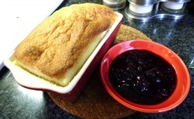 Cook With Debbie - 藍莓梳乎里 blueberry Soufflé
