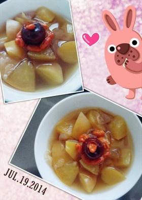 紅棗枸杞蘋果糖水