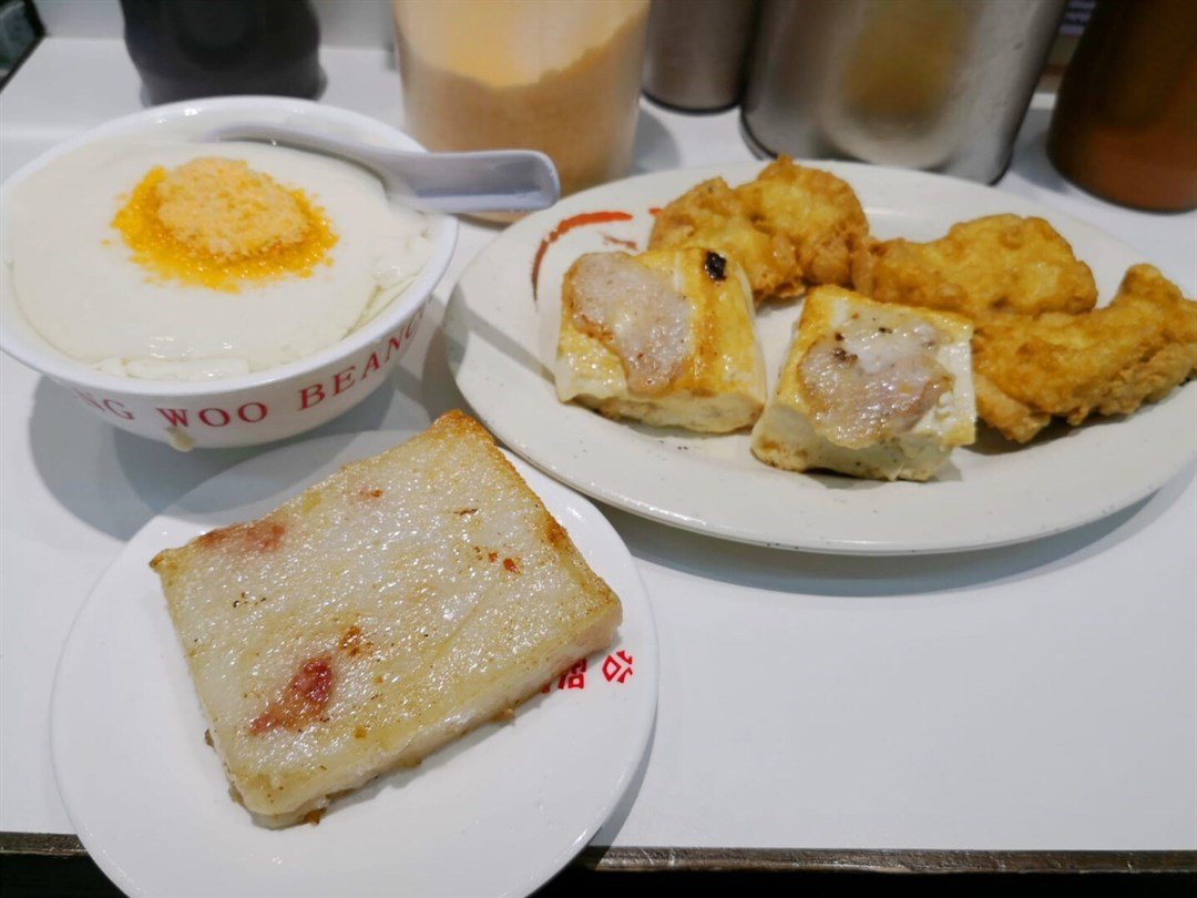 Beancurd Assortment at Kung Wo Beancurd Factory in Sham Shui Po, Hong Kong